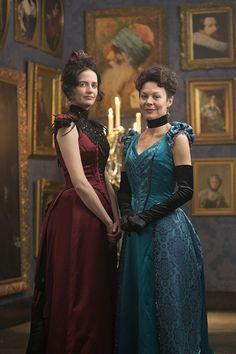 Penny Dreadful | Season 2 | Eva Green as Vanessa Ives and Helen McCrory as Madame Kali or Evelyn Poole