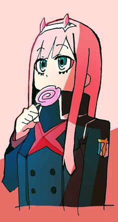 Zero Two - Darling in the FranXX #GG #anime