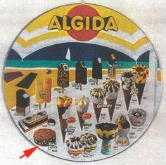 """""""Fresh"""" ice-cream.... By Algida"""
