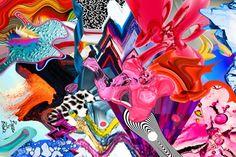 Basso Brooke Fashion Fabric, Fashion Art, Fabric Swatches, Textile Design, Designers, Textiles, Patterns, Nature, Poster