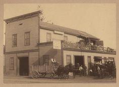 Eggert's Blacksmith Shop, Hayward, California      1878