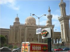 One of the mosques in Port Said, Egypt.