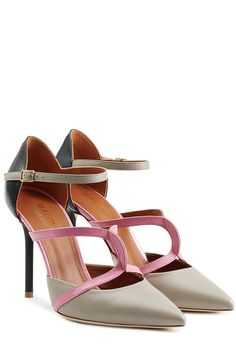 Leather Double Strap Mules detail 0