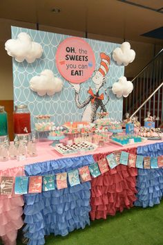 Pink Dr. Seuss Girl | Philippines Children's Party Blog