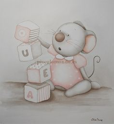 Cute Animal Drawings, Cute Drawings, Drawing For Kids, Art For Kids, Baby Painting, Pet Mice, Baby Pillows, Animal Cards, Hamsters