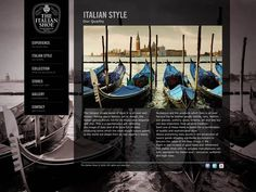 The Italian Shoe by Key Business + Unitdesign , via Behance
