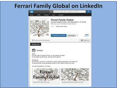 Ferrari Family Global on LinkedIn