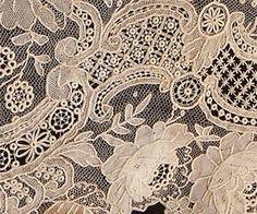 The Lace Guild - Flanders Needlelace - Point de Gaze by adriana Needle Lace, Bobbin Lace, Lace Ribbon, Lace Fabric, Antique Lace, Vintage Lace, Belle Epoque, Lacemaking, Art Textile