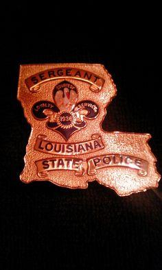 Sergeant's Badge, Louisiana State Police