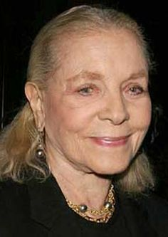 I think your whole life shows in your face, and you should be proud of that. – Lauren Bacall RIP-she was such a class lady!