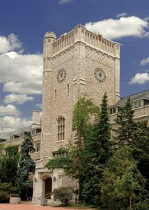 Johnston Hall, University of Guelph. I am currently an off-campus student but would love to visit soon. So beautiful. O Canada, Tower Bridge, Rental Apartments, Ontario, University, Architecture, World, Places, Sports Massage