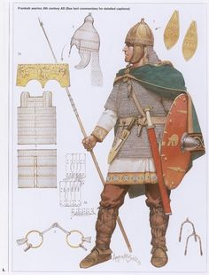 6th Century Frankish Warrior