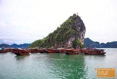 Junk Boats in Halong Bay Vietnam — earthXplorer adventure travel photography