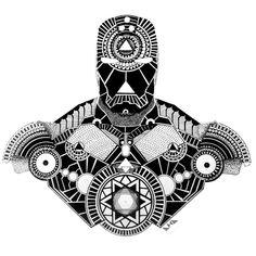 from @mitesh_amin - IRON MANdala. . . . #sacredart #sacredgeometry #mandala #mandalaart #ironman #marvel #geometry #penandink #inktober #inktober2015 #vscoart #vscogood #featuregalaxy #iblackwork #superhero #tattoo #fusionart #instaart #instaartist...