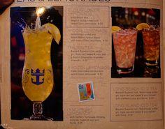Royal Caribbean Drink Recipes
