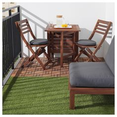 Backyard patio ideas on a budget diy grass New Ideas Hinterhof Terrasse Ideen auf ein Budget DIY Budget Patio, Small Patio Ideas On A Budget, Patio Diy, Backyard Patio, Backyard Ideas, Ikea Patio, Small Deck Decorating Ideas, Large Backyard, Balcony Ideas