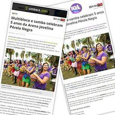 A comemoração de 5 anos da Arena Jovelina é notícia nos portais Catraca Livre e Boa Informação. Diversão garantida para o seu fim de semana! Leia em:https://goo.gl/KwMSh6ehttps://goo.gl/oSkcXV  #assessoriadeimprensa #comunicacao #comunicacaoderesultados #assessoria #cultura #festa #aniversario #multibloco #sarau #samba #musica #diversidade #arenajovelina #riodejaneiro #pavuna #jornalismo #publicidade #marketing #bemnafita #bemnafitacom #bnf