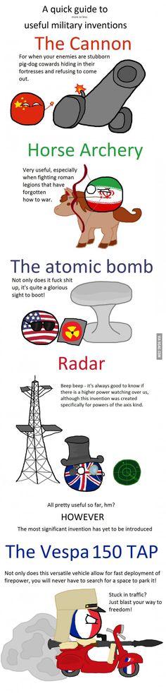 War inventions