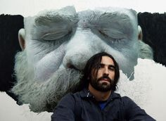 These Giant Hyperrealistic Paintings By Eloy Morales Will Absolutely Floor You