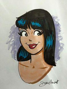 Veronica Lodge by Dan Parent, Archie Comic Publications, Inc. https://www.pinterest.com/citygirlpideas/archie-comics/