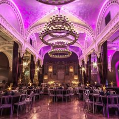 Ghillie Dhu is a stunning Grade B listed former church sitting in the shadow of Edinburgh Castle. This award winning venue built in 1842 has been lovingly . Whats Today, Wedding Venues Uk, Edinburgh Castle, Wedding Goals, For Everyone, Activities, Mansions, Night, House Styles