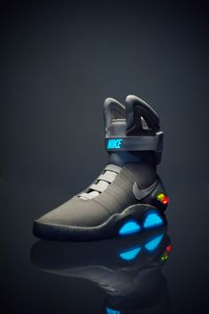 Best photo ever of a Nike Air MAG shoe!