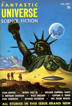 Aug-September 1953  Cover art by Alex Schomburg