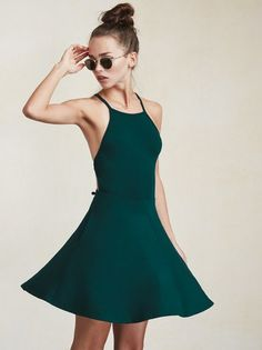 You probably don't have enough strappy little dresses. The Zion Dress is a mini dress that's just as appealing from the back as it is from the front. https://www.thereformation.com/products/zion-dress-teal?utm_source=pinterest&utm_medium=organic&utm_campaign=PinterestOwnedPins