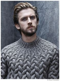 So handsome Dan Stevens Dan Stevens, Fashion Mode, Mens Fashion, Style Fashion, Style Masculin, Look Man, La Mode Masculine, Bearded Men, Beauty And The Beast