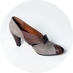 Oh, Re-Mix shoes. We love you. | 1930s Remix Beverly Heel