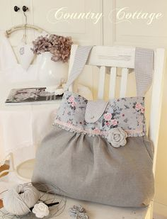 My Country Cottage Garden: Pretty bag