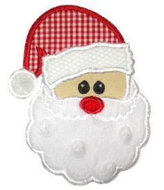 Free Santa Applique Patterns | HOW TO EMBROIDER APPLIQUES - Embroidery Designs