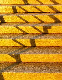 birdcagewalk: justkeepswimmingirl:Golden stairway by ropmann on Flickr.