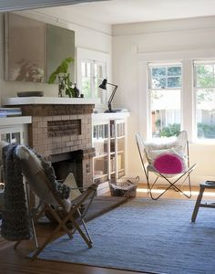 Not sure what it is I love about this room. but it;s something!  | Remodelista's Sarah Lonsdale at Home in St. Helena, California