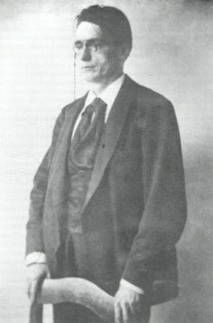 Rudolf Steiner in 1901.