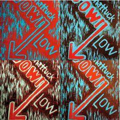 Down Low, 2015 Woodcut, x Yolanda Cotton Turner Will Turner, Blue Orange, Fine Art Prints, Art Gallery, Instagram Posts, Cotton, Art Museum, Fine Art Gallery