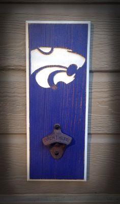 Kansas State Wildcats Bottle Opener