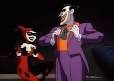 "Harley Quinn's first appearance, September, 1992 in ""Batman: The Animated Series"""