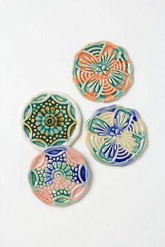 Mandala Coasters - Anthropologie.com