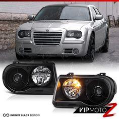 Chrysler 300s, Led Closet Light, Black Headlights, Headlight Assembly, Projector Headlights, New Drivers, High Beam, Mopar, Shopping