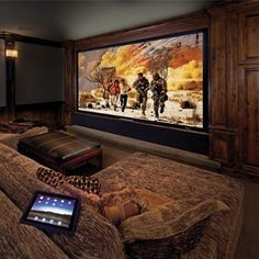 "The perfect ""man cave!"""