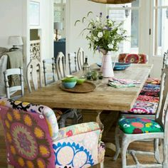 I absolutely love this dining area!!!