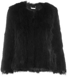 Ahana fur jacket  by Diane Von Furstenberg  #matchesfashion