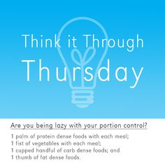Think it Through Thursday - http://exerscribeblog.livejournal.com/6008.html