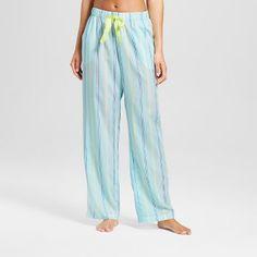10a14ca06ddd6 Women's TENCEL® Pajama Pant - Xhilaration™ Blue Stripes, Pajamas, Pajama  Pants,