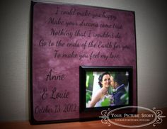 Wedding Song Lyrics ANY Personalized Names First Dance Picmats 4000This A Great Way To Capture Your Special Day Forever I Like This Very Mu
