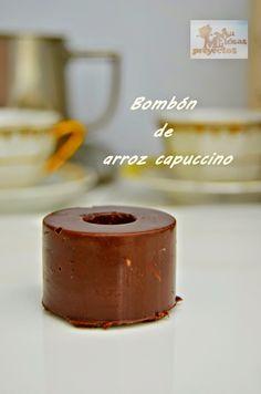 Mil Ideas Mil Proyectos: BOMBON DE ARROZ CAPUCCINO #retoMiele
