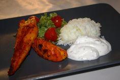 Persisk Saffranskyckling med ris & Myntayoghurt | KARDEMUMMAGUMMAN