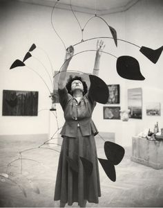 Peggy Guggenheim, champion for the arts / Inspired by #LincolnBlackLabel