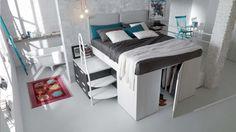 Camera Da Letto Con Soppalco : Fantastiche immagini su camera da letto a soppalco windows